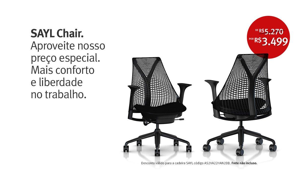 Promoção SAYL Chair.